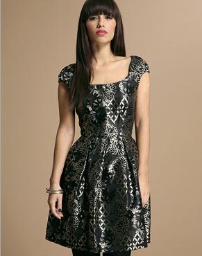 Jaquard Dress from asos.com