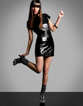 American Retro PVC Dress from asos.com