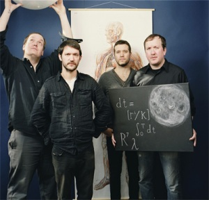 Swollen goods: Cursive return from a three year absence.